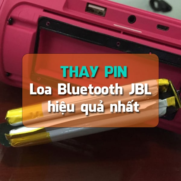 Thay pin loa Bluetooth